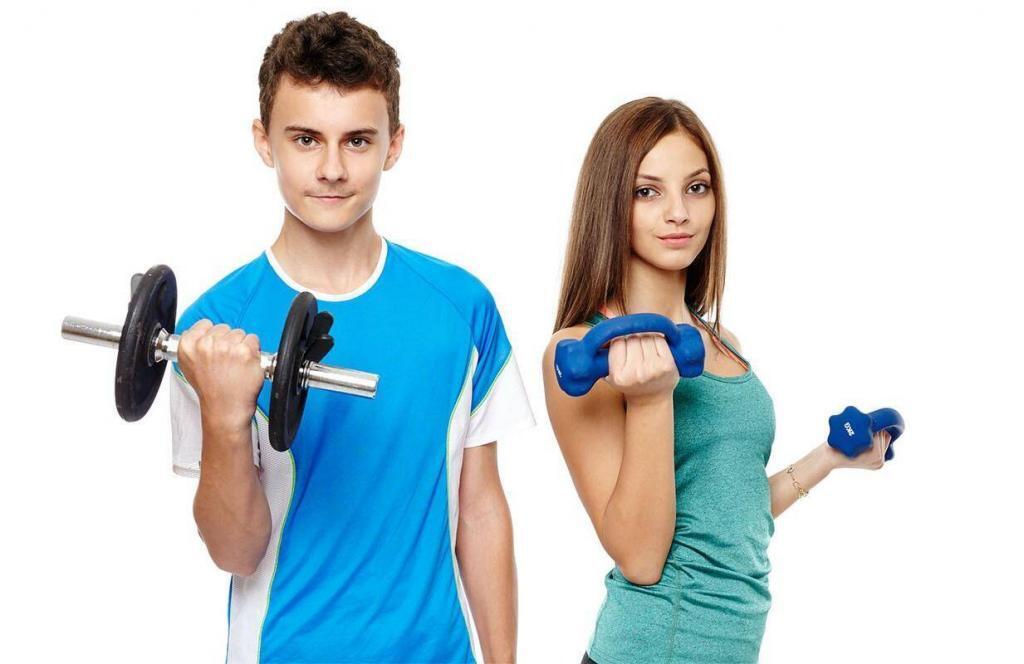 Детский фитнес от 7 до 12 лет