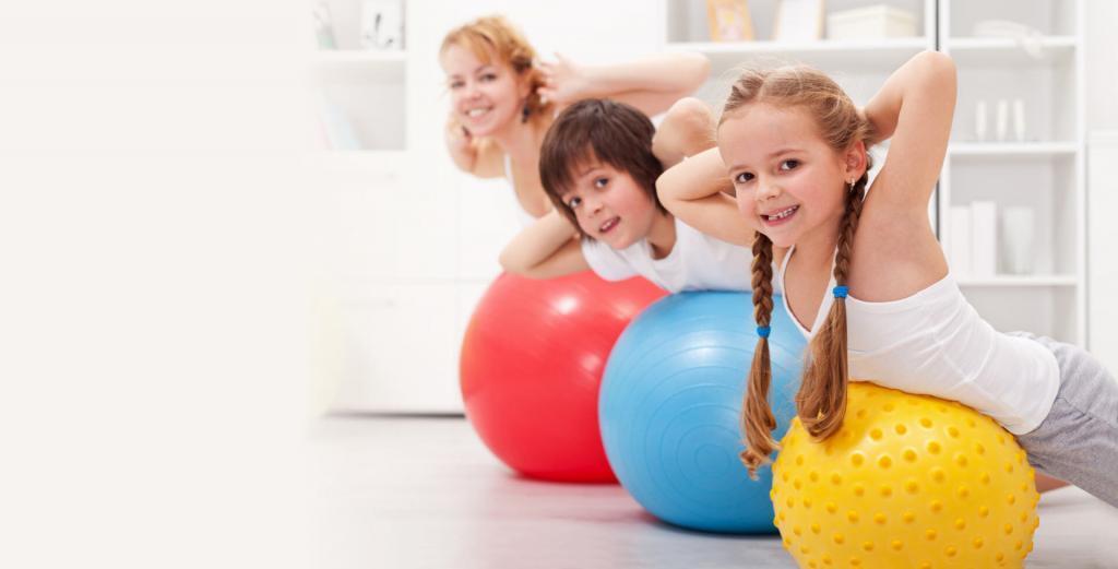 Детский фитнес от 3 до 6 лет