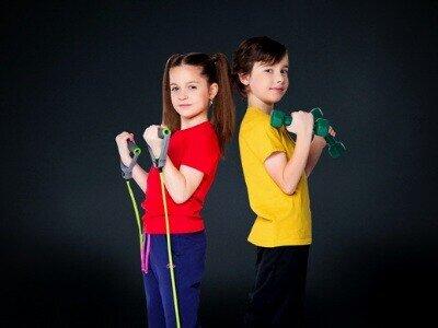 Детский фитнес обучение в Крыму
