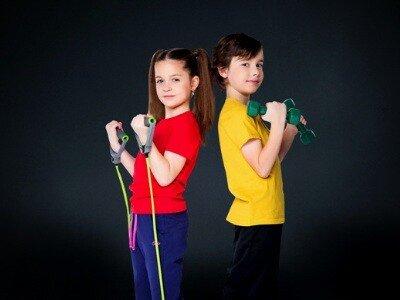Детский фитнес обучение в Новосибирске