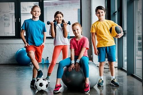 Детский фитнес программа онлайн